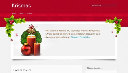 krismas-blogger-template