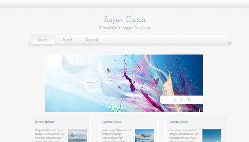 super-clean-blogger-template