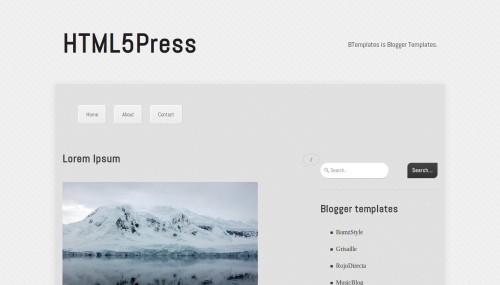 html5press-blogger-template
