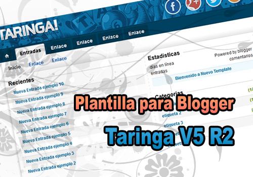 Taringa-V5-R2-Plantilla-para-Blogger