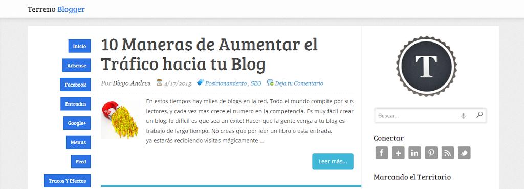 Terreno-Blogger