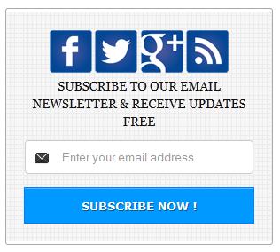 Blue-Color-Social-Subscription-Widget
