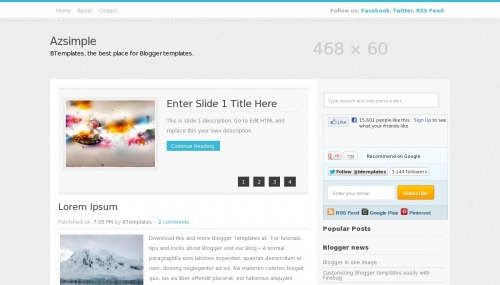 azsimple-blogger-template