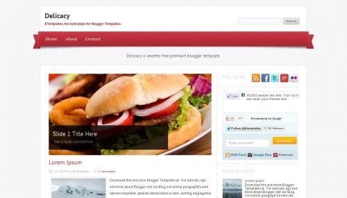delicacy-blogger-template