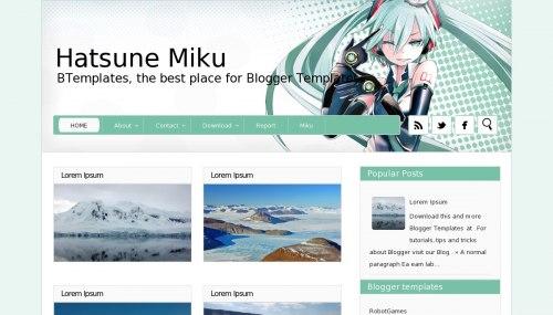 hatsune-miku-blogger-template