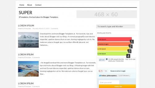 super-blogger-template