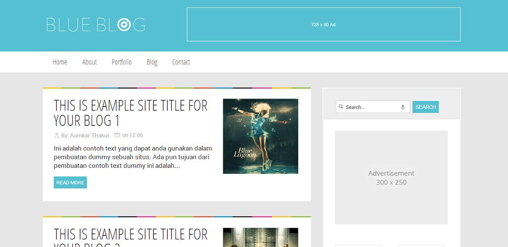 blue-blog-blogger-template