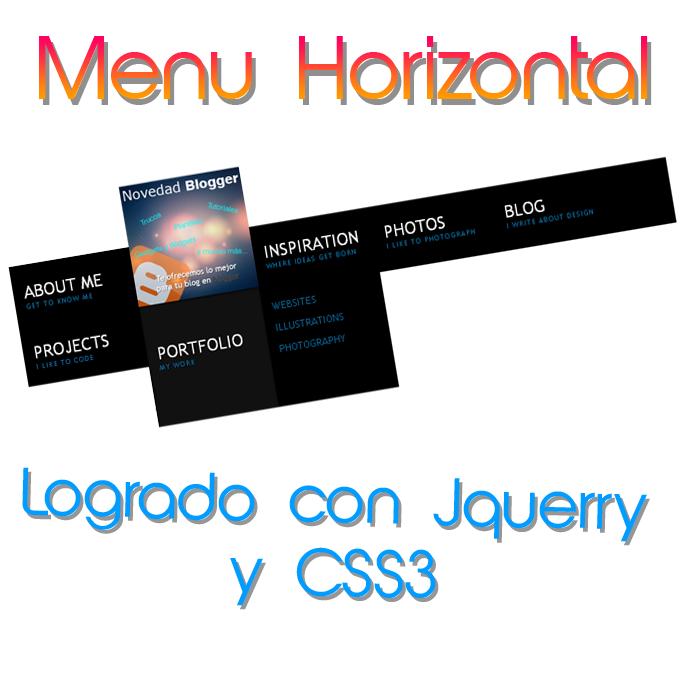 menu-horizontal-jquerry-css3