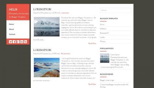 helix-blogger-template
