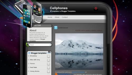 cellphones-blogger-template