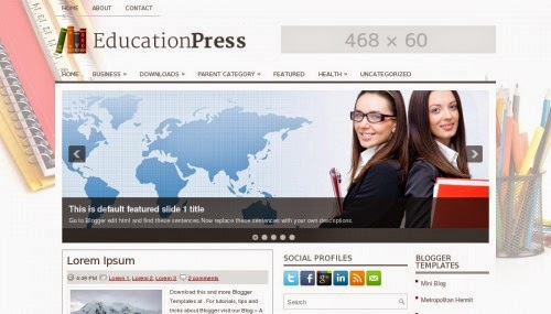 educationpress-blogger-template