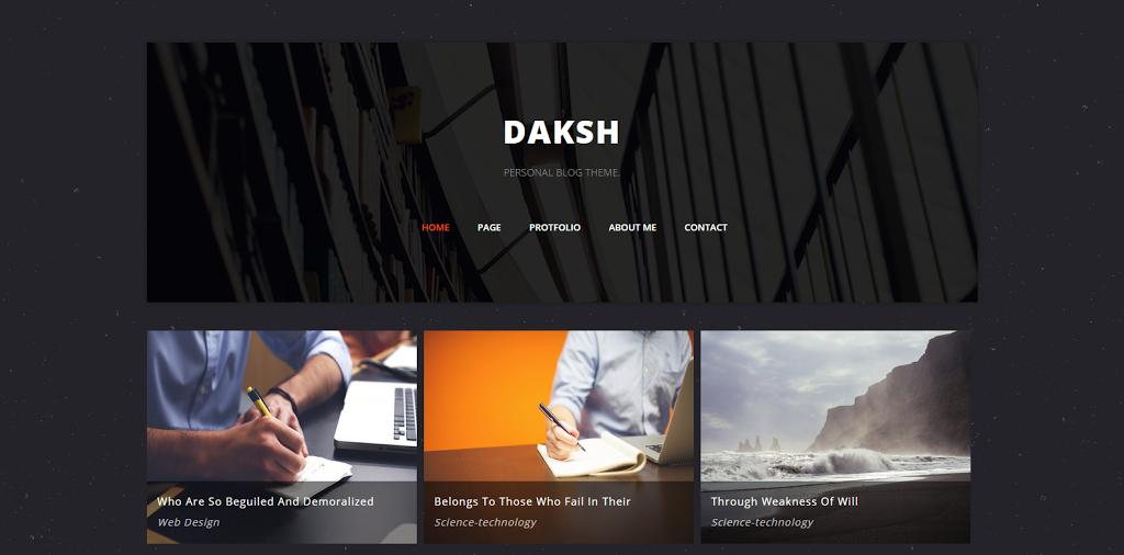 Daksh-2BBlogger-2BTemplate