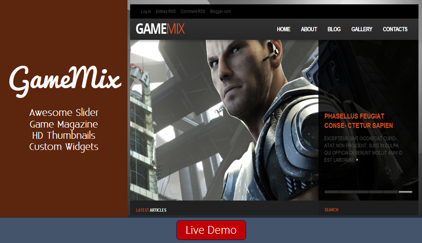 Gamemix-2BBlogger-2BTemplate
