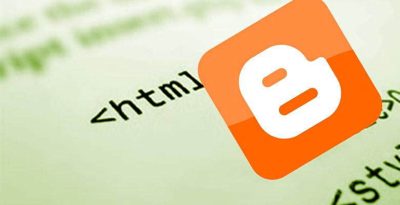 Error HTML Blogger