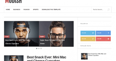 Modish-Blogger-Template
