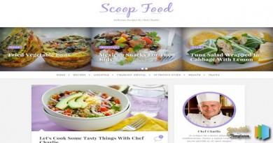 Scoop-Food-Responsive-Blogger-Template