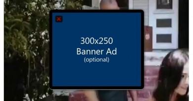 Banner de publicidad encima de tus vídeos