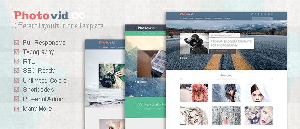 photovid-blogger-template
