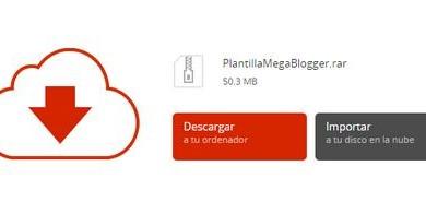 plantilla de mega para blogger