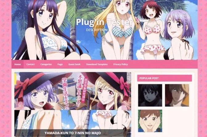yamada kun blogger template