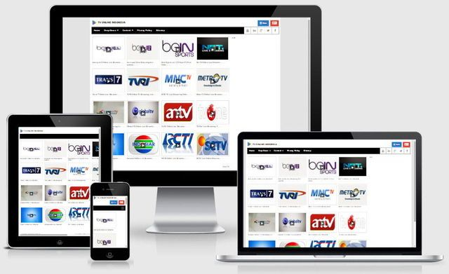 TV Online- Plantilla Blogger