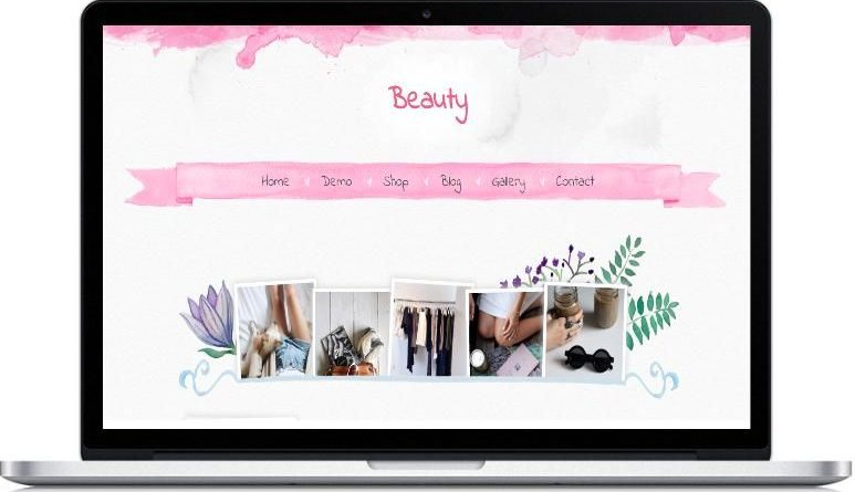 beauty-blogger-template