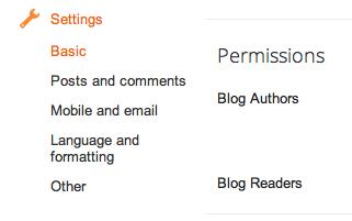 Cómo transferir un blog a otra cuenta