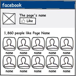 Insertar el Like Box oficial de Facebook en Blogger
