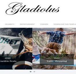Gladiolus-Plantilla