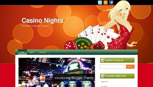 casino-nights-blogger-template